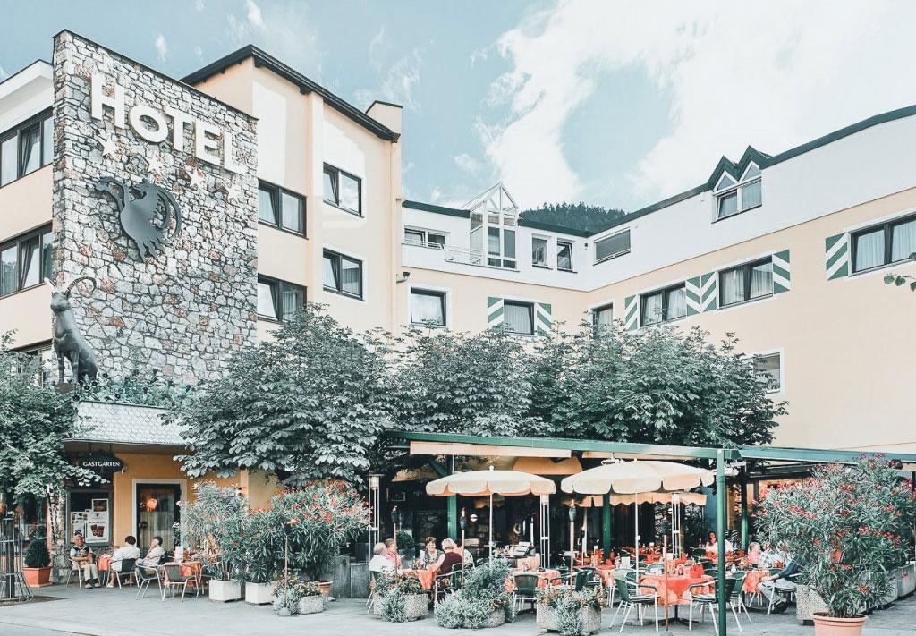 Das Hotel Schrofenstein liegt mitten in Landeck - im Herzen von Tirol