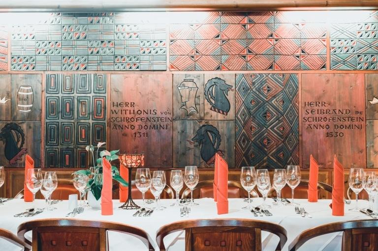 Das Hotel Schrofenstein in Landeck bietet die idealen Rahmenbedingungen für Ihre Weihnachtsfeier