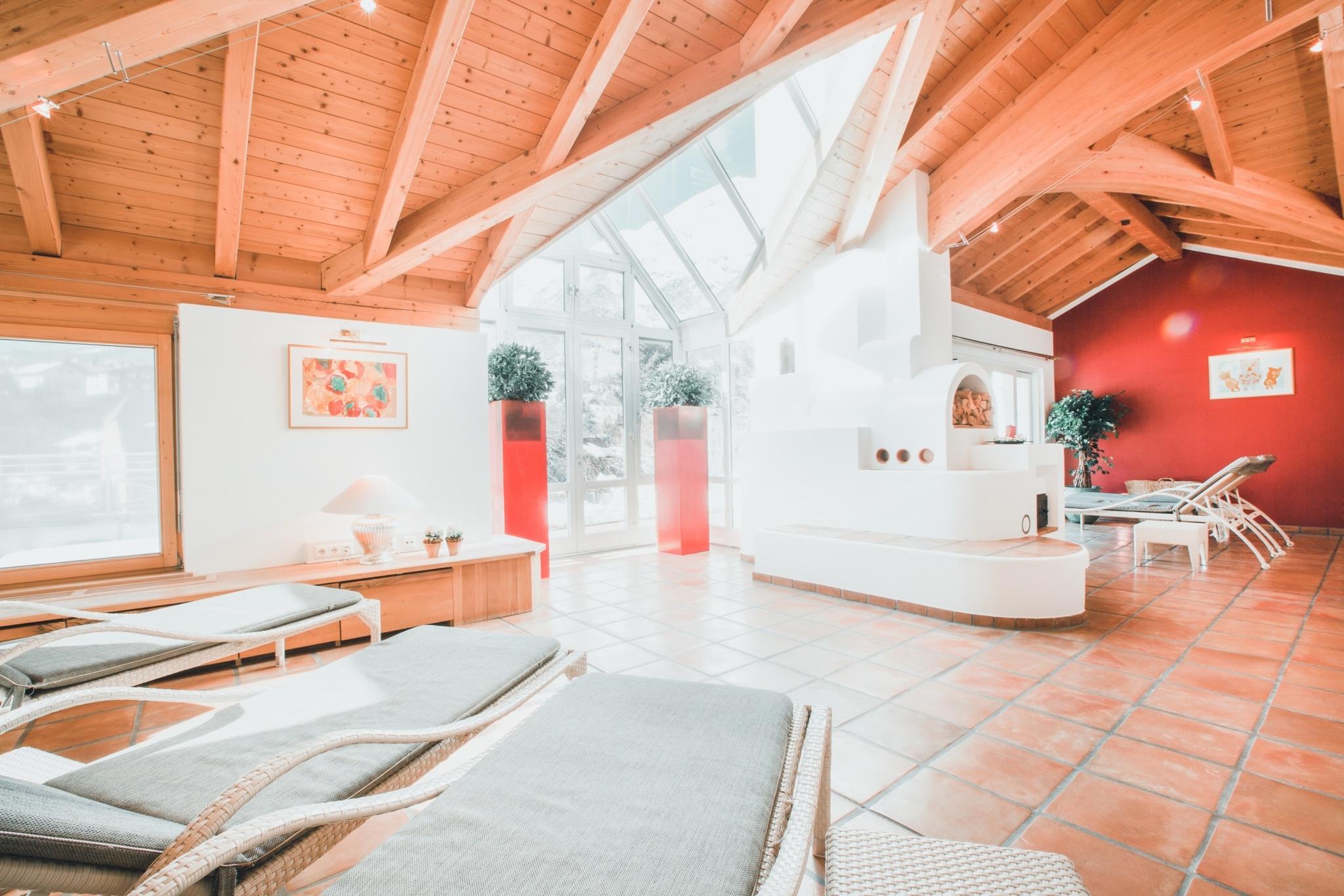 Im Hotel Schrofenstein in Landeck gibt es einen Spa Bereich mit Sauna