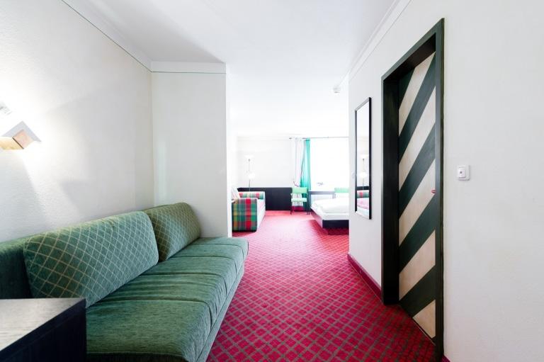 Die Junior Suiten im Hotel Schrofenstein in Tirol sind für Familien und gemeinsam Reisende ideal.