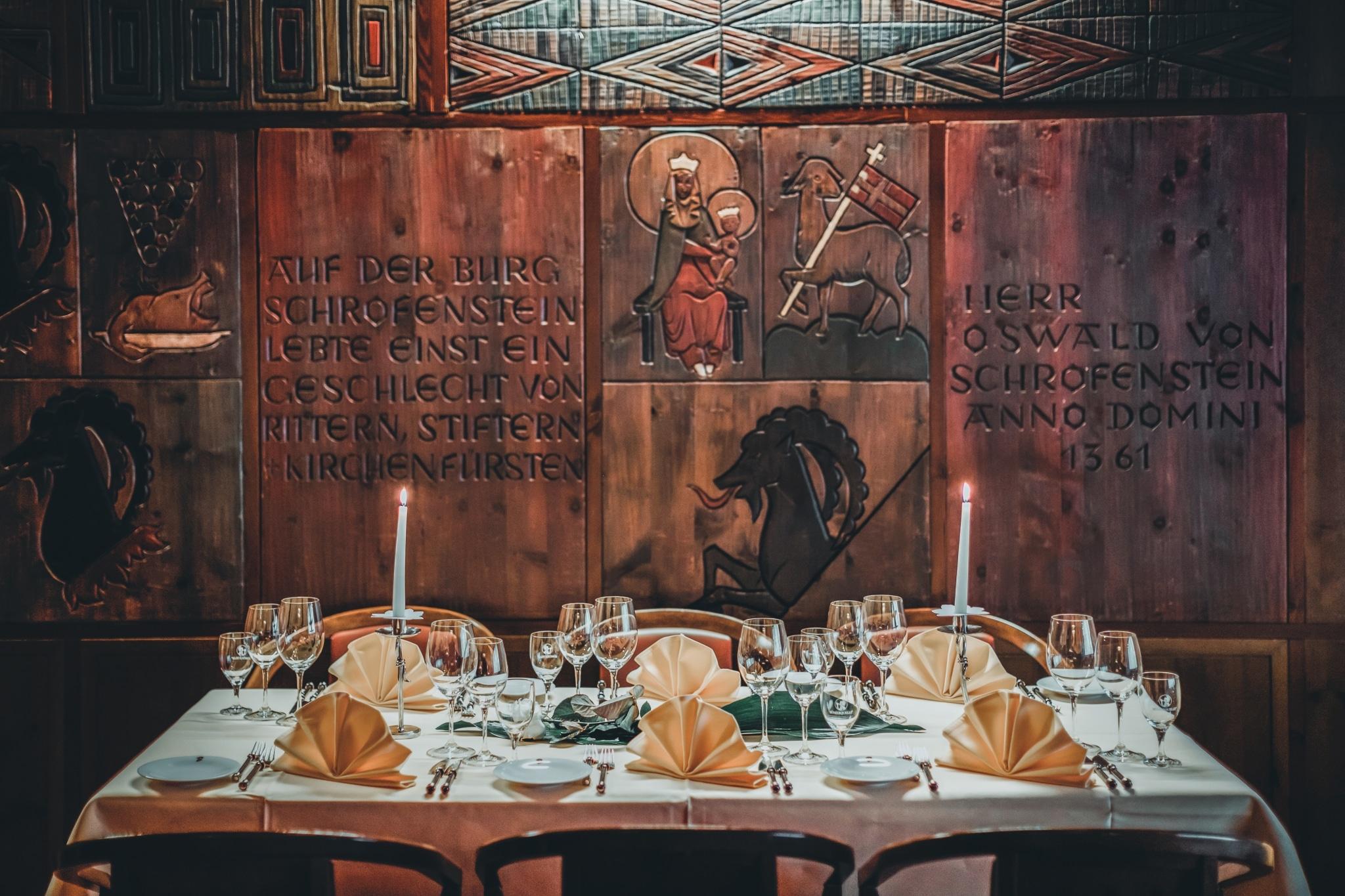 Veranstaltungen mit einem klassischen Tiroler Touch im Hotel Schrofenstein in Landeck