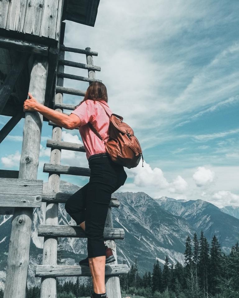 Das Hotel Schrofenstein ist Ihr idealer Ausgangspunkt für Wanderungen in Tirol