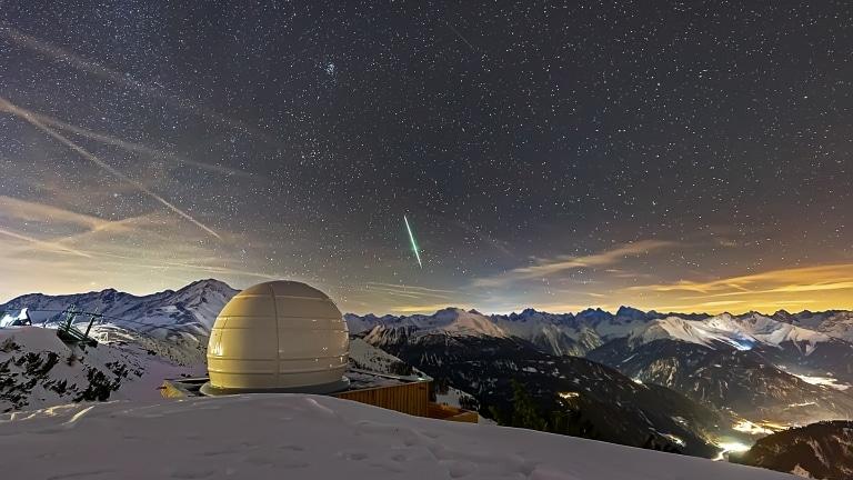 Die Sternwarte auf dem Venet in Landeck in Tirol