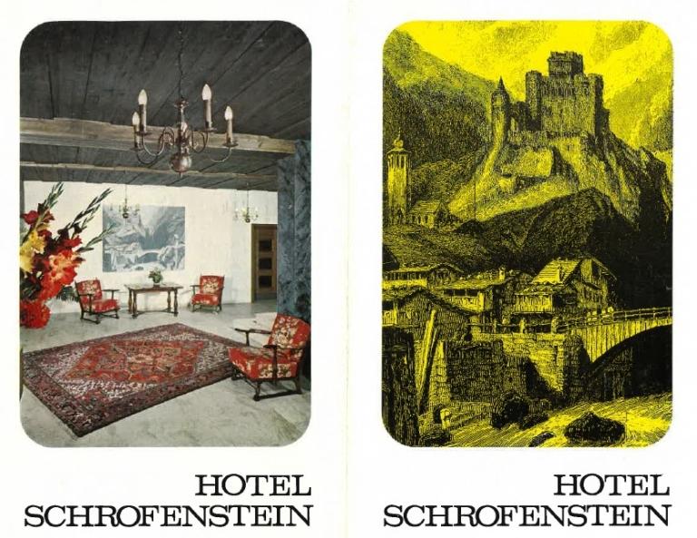 Das Schrofenstein in Landeck ist ein Tiroler Hotel mit einer langen Geschichte