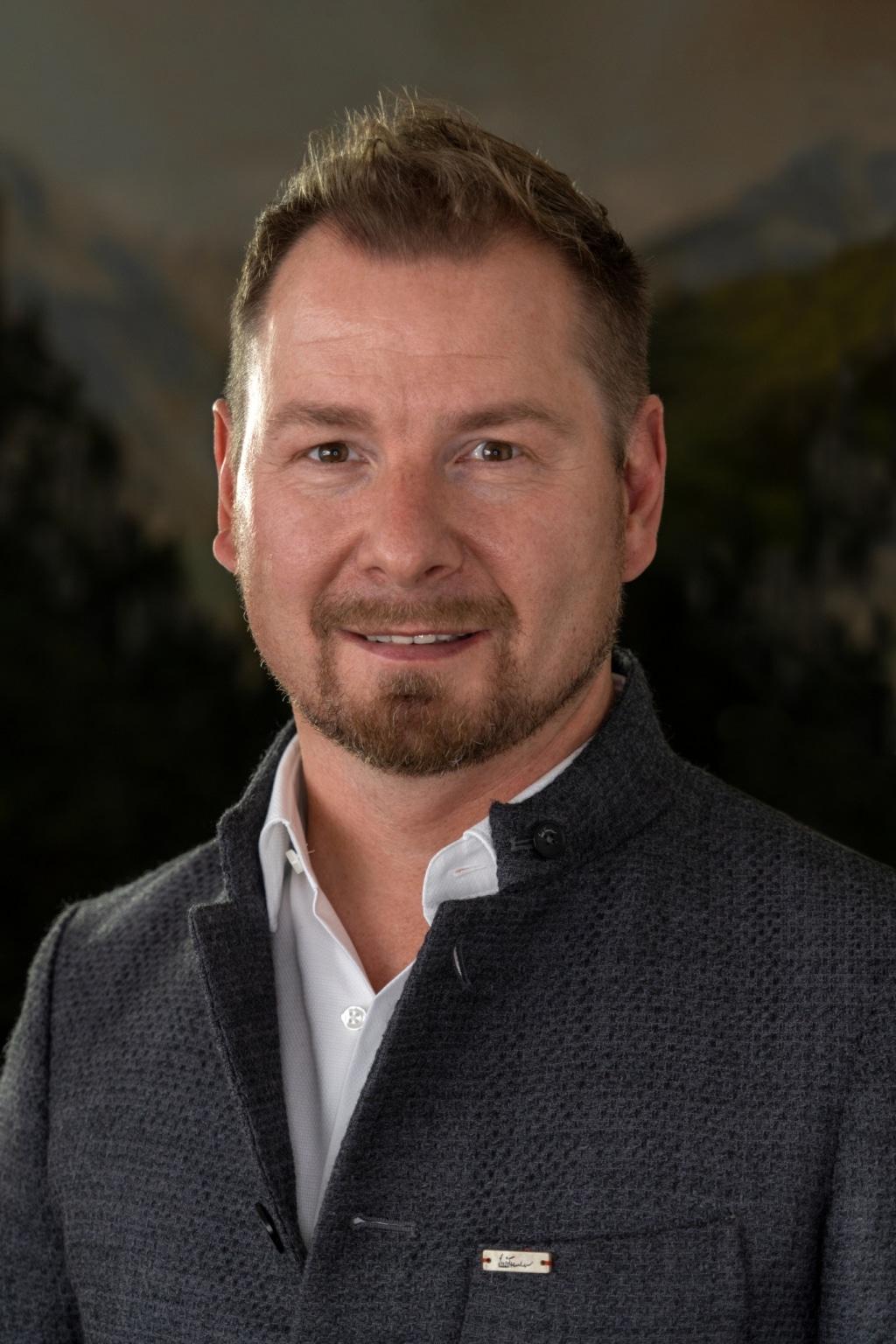 Bernhard Gosch, Hoteldirektor im Hotel Schrofenstein in Landeck