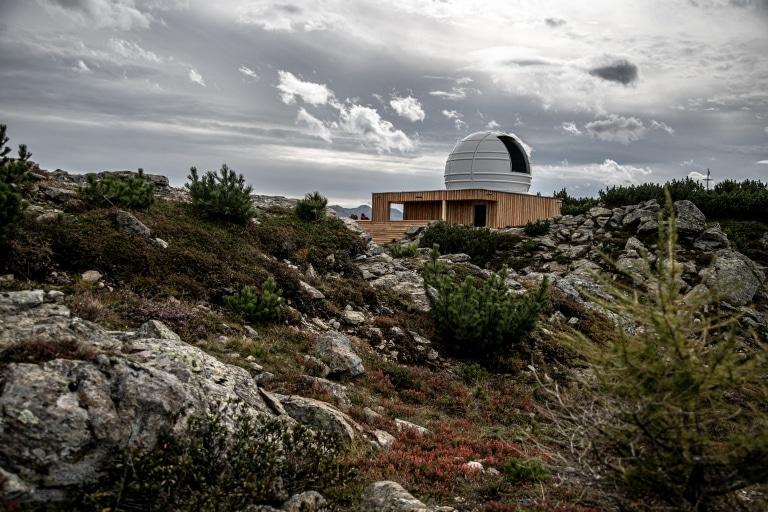 Sternobservatorium auf dem Venet im Tiroler Oberland